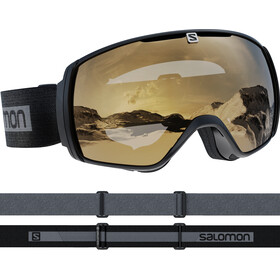 Salomon Xt One Access Goggles, black/gold
